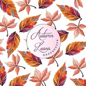 Autumn Watercolor Background, Autumn, Watercolor, Color PNG and Vector