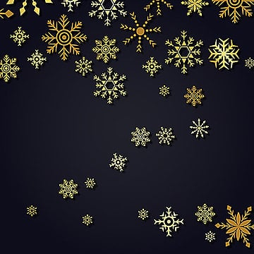 Vector Snowflakes Background, Snow, Vector, Falling PNG and Vector