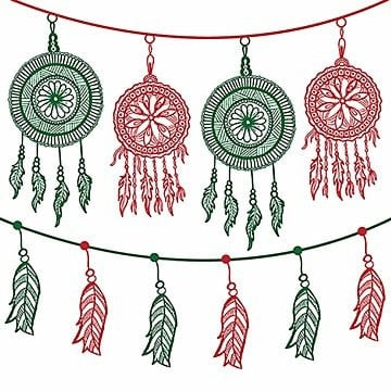 Feito à mão coloridas penduradas cordas desenhos, Apartamento, Festa, AniversárioPNG e Vector