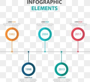 抽象的なカラフルな三角形のビジネス図解要素, ベクトル, 図解, バナーPNGとベクター