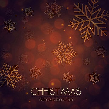 Merry Christmas Vector Background, Snowflake, Ball, Brown PNG and Vector