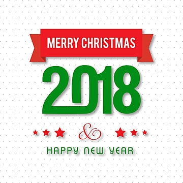 Merry Christmas 2018 pattern, 2018, Pattern, Stars PNG and Vector