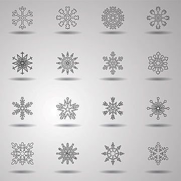 Chrismas snow flakes, 2018, Christmas, Party PNG and Vector