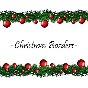 Christmas Boarder.Christmas Border Png Images Vector And Psd Files Free