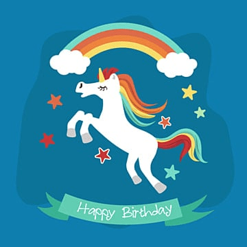 pretty unicorn card with, Unicorn Vector, Card Vector, Vector PNG and Vector