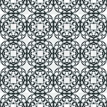 Floral Pattern  Wallpaper Baroque, Damask  Seamless Vector