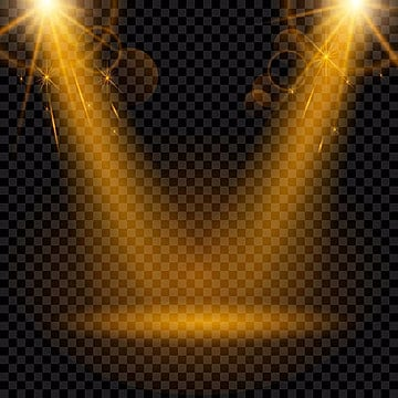Spotlight vector. Png psd and clipart