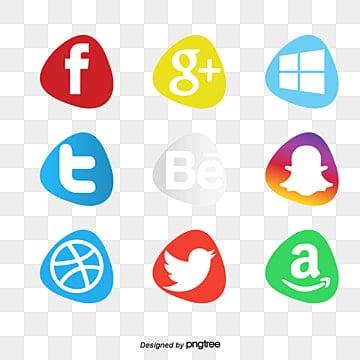 les médias sociaux d'icônes collection, Le Logo, La Technologie, L'icônePNG et vecteur
