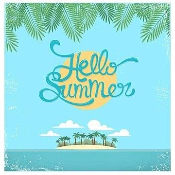 مرحبا الصيف فلم, Summer, Retro, Poster PNG و فيكتور