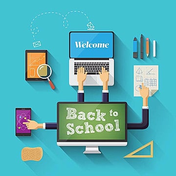 back to school design elements, School Vector, School, Back To School PNG and Vector
