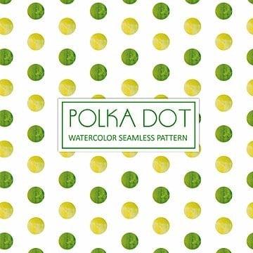 Cal tema Watercolor Polka Dot fondo, Acuarela, Color, Dibujado A Mano PNG y Vector
