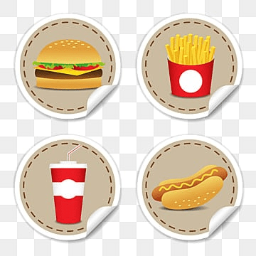 Fesat food icons set, isolated vector illustration., Food, American, Beef PNG and Vector