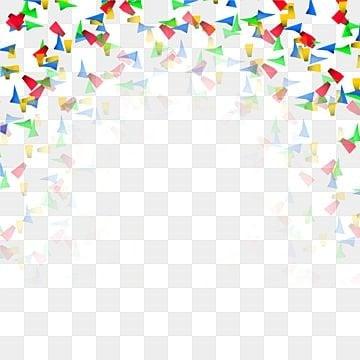 Abstract colorful confetti Carnival background, Confetti, Comemorar Aniversário, VectorPNG e Vector