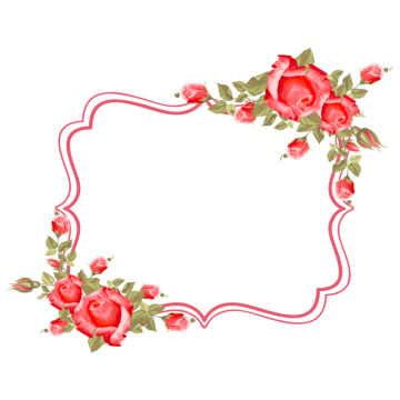 Rose Frame PNG Images | Vectors and PSD Files | Free Download on Pngtree
