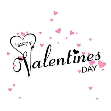 commercial use happy valentines day romantic greeting card text design valentine day background png and