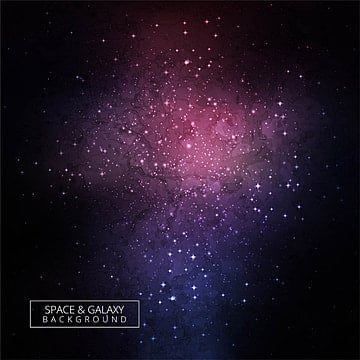 Galaxy stardust. Png vector psd and