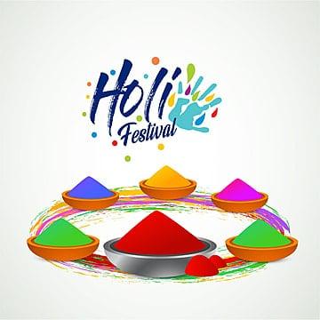 مهرجان هولى كارد مع الألوان, هولى, سعيد, مهرجان PNG و فيكتور
