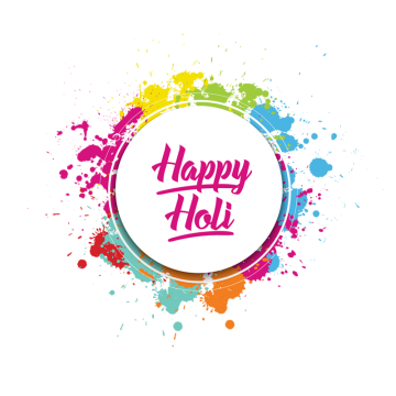 Happy Holi Colorful Splatter Color Splash, Happy Holi, Holi, Colorful Holi Label PNG and PSD