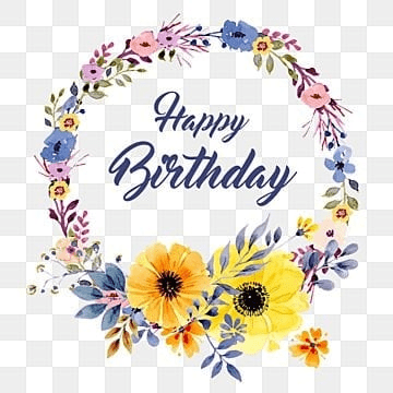 Happy Birthday Png Images Download 3986 Png Resources With