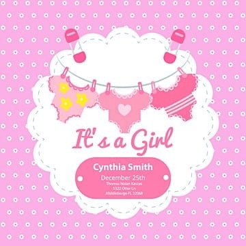 Baby Shower Invitation Png Images Vectors And Psd Files Free