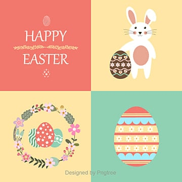 Happy Easter, Easter,Happy Easter, Rabbit Background, Easter Background PNG and Vector