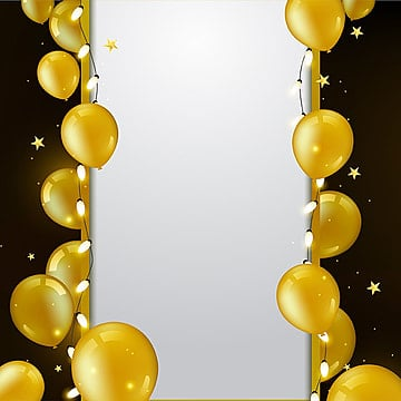 Golden Balloon Png Images Vector And Psd Files Free