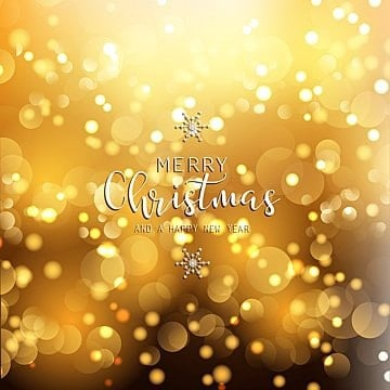 happy new year background with gold lights 0712 christmas happy new year vector