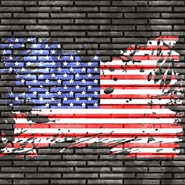 American Flag Vector 1800 American Flag Graphic Resources For Free Download