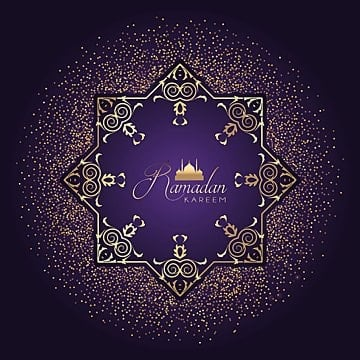 ramadan confetti purple background, Background, Wallpaper, Celebration PNG and Vector