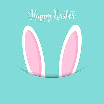 easter bunny ears background 2802, Easter Vector, Easter, Easter Background PNG and Vector