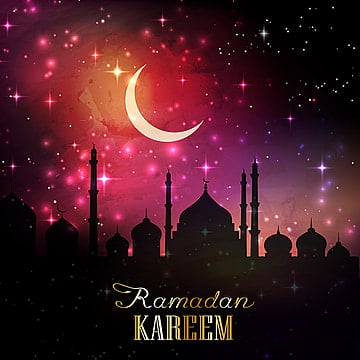 islam ramadan moon and lantern background, Background, Wallpaper, Celebration PNG and Vector