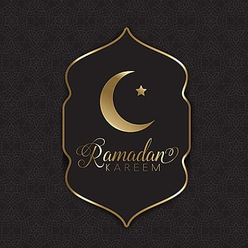 gold and black ramadan lantern, Moon Background, Ramadan Kareem, Black Background PNG and Vector