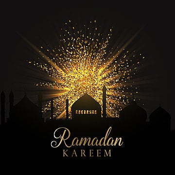 islam ramadan background with gold glitter, Background, Wallpaper, Celebration PNG and Vector