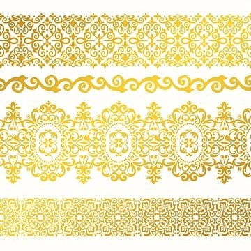 Vector frame free download png images vectors and psd files free floral ornate baoq line border floral ornate golgen border golgen png and vector thecheapjerseys Images