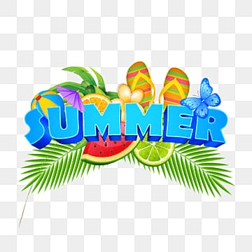 Summer Elements Png, Vector, PSD, and Clipart With