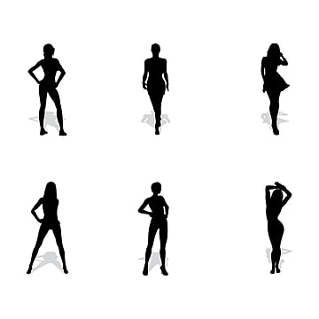Woman Silhouettes PNG Images  aa07e7409