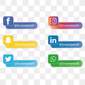 1,751+ Social Media Icons Collection Free Download in PNG