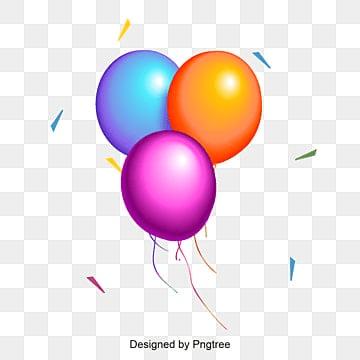 Cartone Animato Di Palloncini Colorati Immagini Png Vettori E File