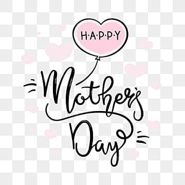 happy mothers day card, Mother, Typography, Mom PNG and Vector