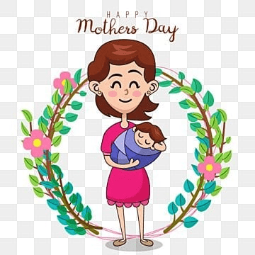 vector illustration of mother and daughter mothers day, Mother, Mom, Mothers PNG and Vector
