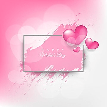 mothers day greeting card with flowers background, Mothers, Happy, Mother PNG and Vector