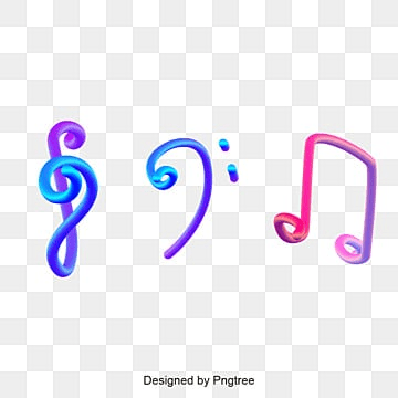 3d note vector design, 3d, Music Symbol, Melody PNG and Vector