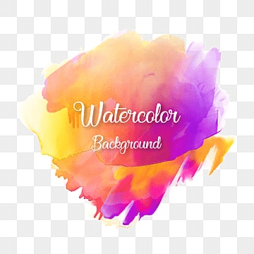 colorful abstract watercolor background with typography, Colorful, Watercolor, Abstract PNG and Vector
