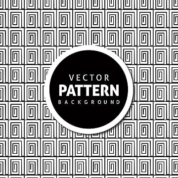 Black and White Geometric Seamless Pattern  check Background, Background, Abstract, Wallpaper PNG and Vector