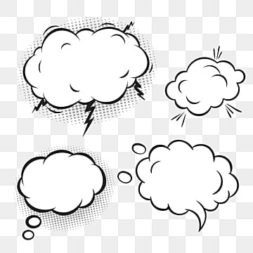 Speech Bubble PNG Images | Vector and PSD Files | Free