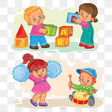Children Play With Toys Png Images Vectors And Psd Files Free