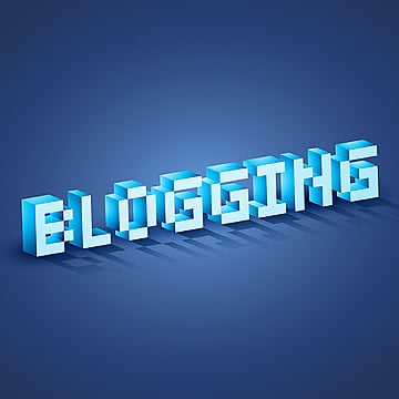 web blogging, Blog, Icons, 3d PNG and Vector