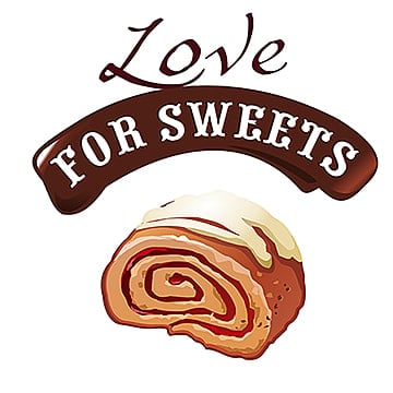 Sweet dessert vector illustration of delicious roll, Sweet, Illustration, Roll PNG and Vector
