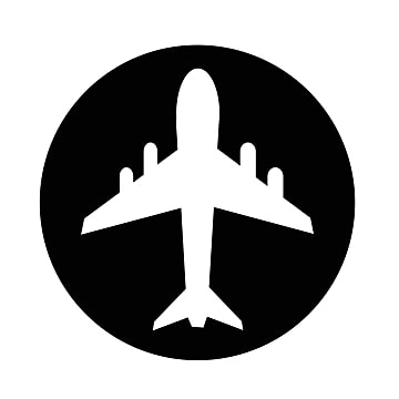 airplane icon, Air, Aircraft, Airplane PNG and Vector