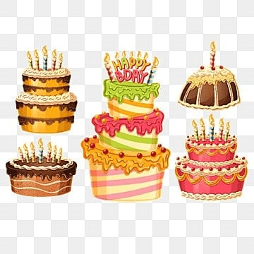 Cartoon Birthday Cake Png Images Vectors And Psd Files Free